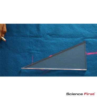 Large Reflection/Refraction Block, Rt. Triangle.