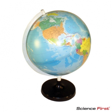 Globe, World, Political, 32cm