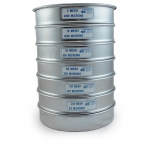 Sieves, Stack of 6, Includes Lid and Pan, Fieldmaster®