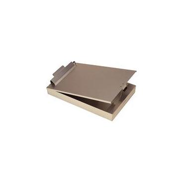 "Clipboard On A Box. 9.5 X 15 X 3""."