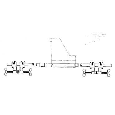 Cross Bar Mounting Kit for 85-E Winch