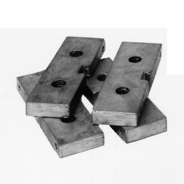 Box Corer Weights, pack of 4.