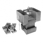 Box Corer, Stainless Steel, 6in x 6in x 9in