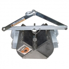 Petite Ponar Grab, Stainless Steel Scoops, Plated Steel Arms- Includes carry case