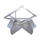 Peterson Grab - Includes shipping crate, Zinc plated steel, 75lbs