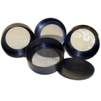 Sieve Set of 6 (5,10,35,60,120,230 Mesh) 7.5x7.5x15.5cm.