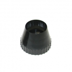 "Nose Piece Lexan Plastic for 2"" Core Tube, pack of 3."