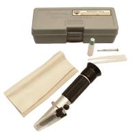 Refractometer, % Salinity, aluminum