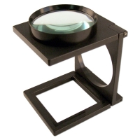 Magnifier with Foldable Stand