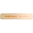 Clear Plastic Rulers Pk Of 12.