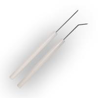 Teasing needles, bent pk/12