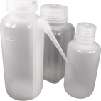 Square polypropylene sample bottle, Polypropylene, 1000mL