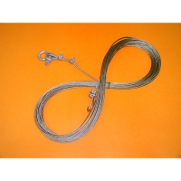 Stainless Steel Aircraft Cable, 1/8in, 100m