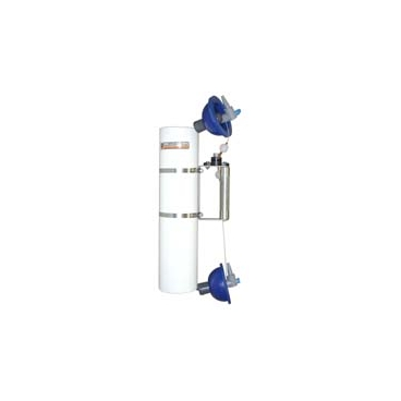 Alpha Water Sampler, Vertical PVC - Water sampler only, Opaque PVC, 3.2L