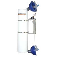 Alpha Water Sampler,  Vertical PVC - Water sampler only, Opaque PVC, 2.2L