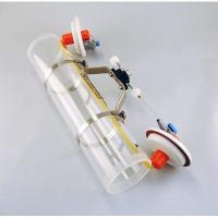 Beta Water Samplers, Horizontal Acrylic - Water sampler only, Transparent acrylic, 3.2L