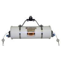Beta Water Samplers, Horizontal PVC - Water sampler only, Opaque PVC, 6.2L