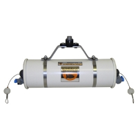 Beta Water Samplers, Horizontal PVC, Kit - Includes carry case, Opaque PVC, 8.2L