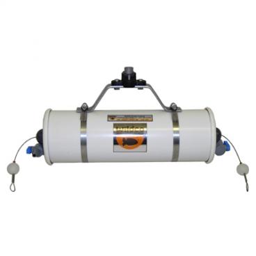 Beta Water Samplers, Horizontal PVC - Water sampler only, Opaque PVC, 4.2L