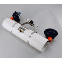 Alpha Water Sampler,  Horizontal PVC Kit - Includes carry case, Opaque PVC, 3.2L