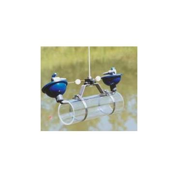 Alpha Water Sampler, Horizontal Acrylic Kit - Includes carry case, Transparent acrylic, 8.2L