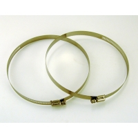 Replacement clamps - Pack of two, for 2.2L, 3.2L, 4.2L Alpha or Beta Bottles
