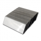 "Fish Scale Impression Slides Pack of 100, 0.020in (0.50mm) Thick, 1"" x 3"""