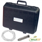 Beta Water Samplers, Horizontal Acrylic, Kit - Includes carry case, Transparent acrylic, 3.2L