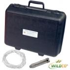 Alpha Water Sampler, Horizontal Acrylic Kit - Includes carry case, Transparent acrylic, 2.2L