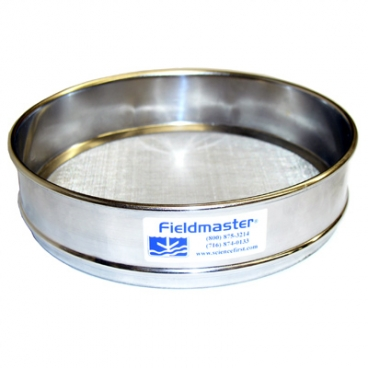 Metal Sieve, US Standard 120 mesh (125um), Fieldmaster®