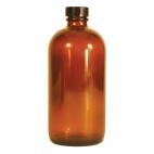 Amber Nrw Mouth Bottle, 480ml, Phenolic Cap