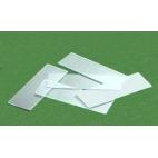 Economy Glass Slides W/smooth Edges, 25x75mm, 72/pk