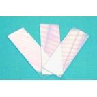 "Plastic Microscope Slides, 1x3"", 144/pk"