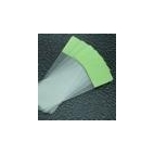 Glass Slides, Glass, Green-Colored End, 72/pk