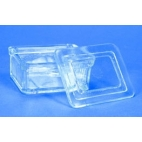 Rectangular Staining Dish, Heavy Glass, For Up To 20 Slides