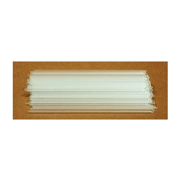 Capillary Melting Point Tubes, 100mm, Both Ends Open, 100/pk