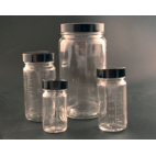 Glass Bottle Beaker®, Dual Graduated, 2oz/60ml