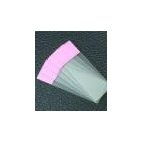 Glass Slides, Glass, Pink-Colored End, 72/pk