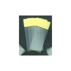 Glass Slides, Glass, Yellow-Colored End, 72/pk