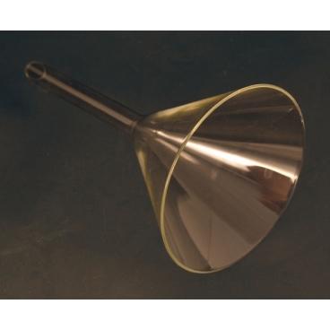 Short Stem Glass Funnel, 120mm Top I.D.