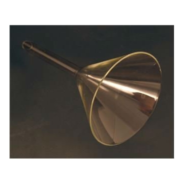 Short Stem Glass Funnel, 150mm Top I.D.