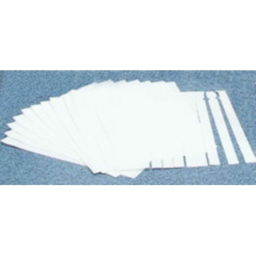 "Papers, Chromatography, 8""x1/2"", 120 Strips/Pk"