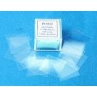 No.1 Glass Cover Slips, 24x40mm, 100/pk