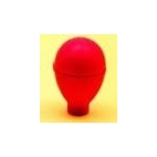 Dropper Bulb, Red, 38 Mm Pk/12**CL (NOT RETURNABLE)