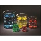 Beaker Set, Glass, Borosilicate, 50-100-250-600-1000