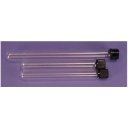 Glass Culture Tubes w/PTFE Lined Screw Cap, 13x100mm, 8ml, 10/pk