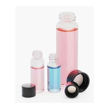 Vials, Kimax®, Gls, Ptfe Lined Caps, 17x60mm, 10/pk