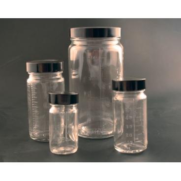 Glass Bottle Beaker®, Dual Graduated, 8oz/240ml