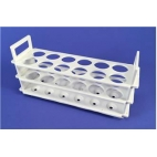 3-Tier Polypropylene Test Tube Rack, Holds 12-32mm Tubes