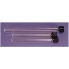 Glass Culture Tubes W/screw Cap, 25x150mm, 50ml, 10/pk